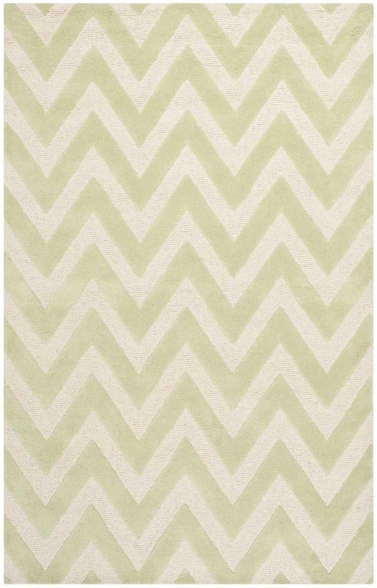 Safavieh Rugs Cambridge CAM139B Light Green | Ivory