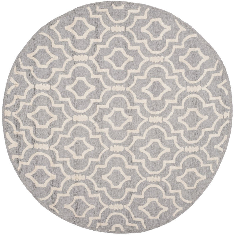 Safavieh Rugs Cambridge CAM141D Silver | Ivory