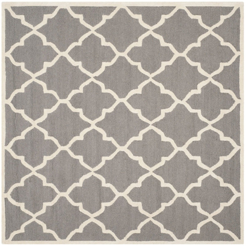 Safavieh Rugs Cambridge CAM312D Dark Grey | Ivory