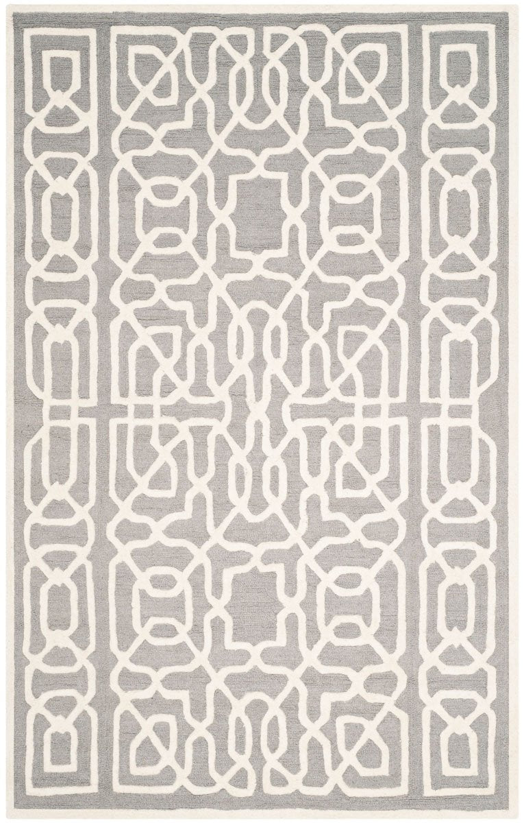 Safavieh Rugs Cambridge CAM570D Silver | Ivory