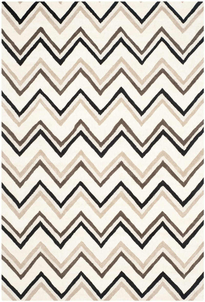 Safavieh Rugs Cambridge CAM581B Ivory | Black
