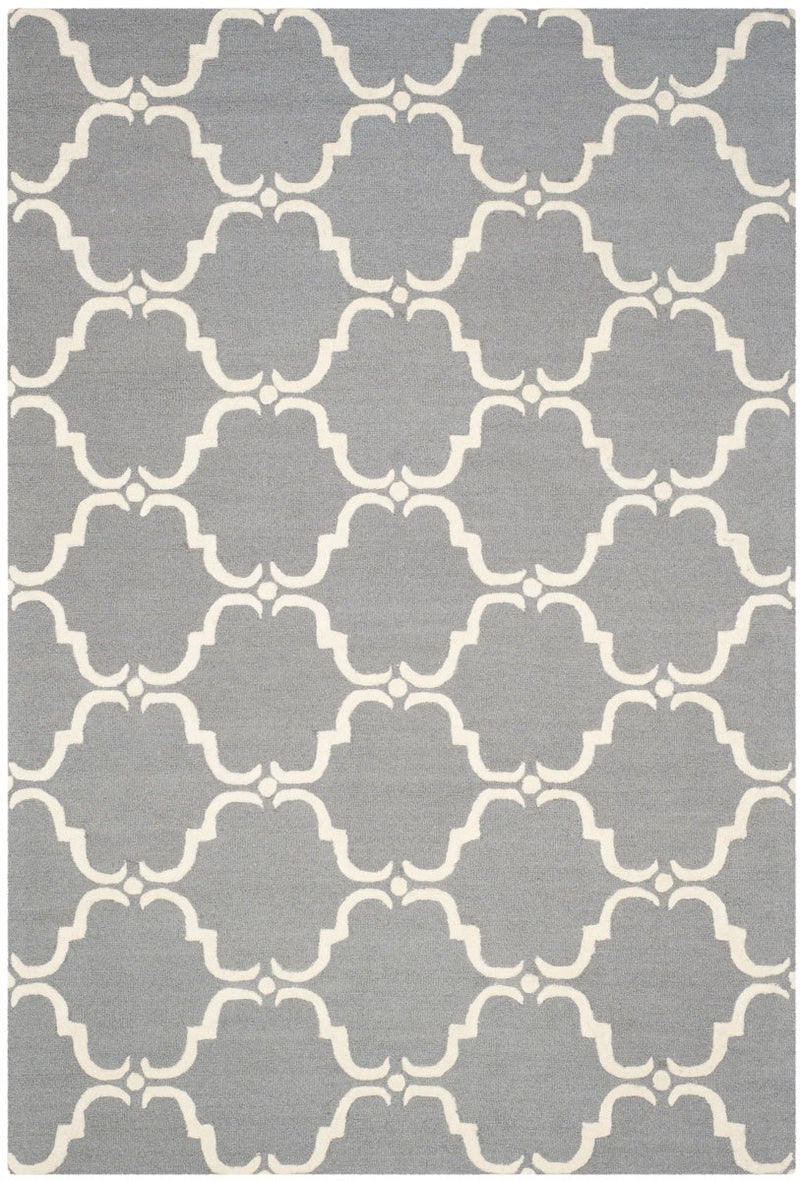Safavieh Rugs Cambridge CAM703D Dark Grey | Ivory