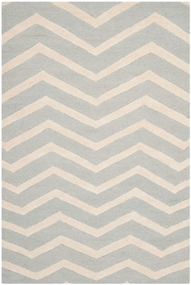 Safavieh Rugs Cambridge CAM714G Grey | Ivory