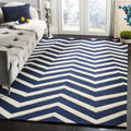 Safavieh Rugs Cambridge CAM714M Navy | Ivory