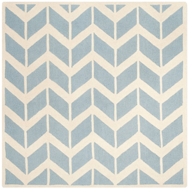 Safavieh Rugs Cambridge CAM718B Blue | Ivory