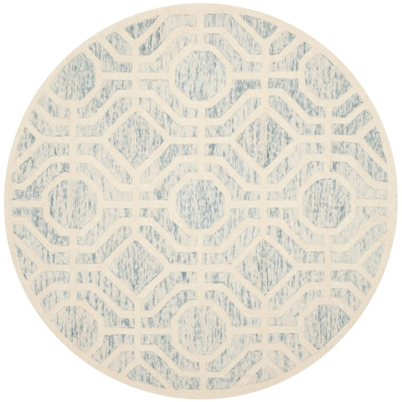 Safavieh Rugs Cambridge CAM726B Light Blue | Ivory