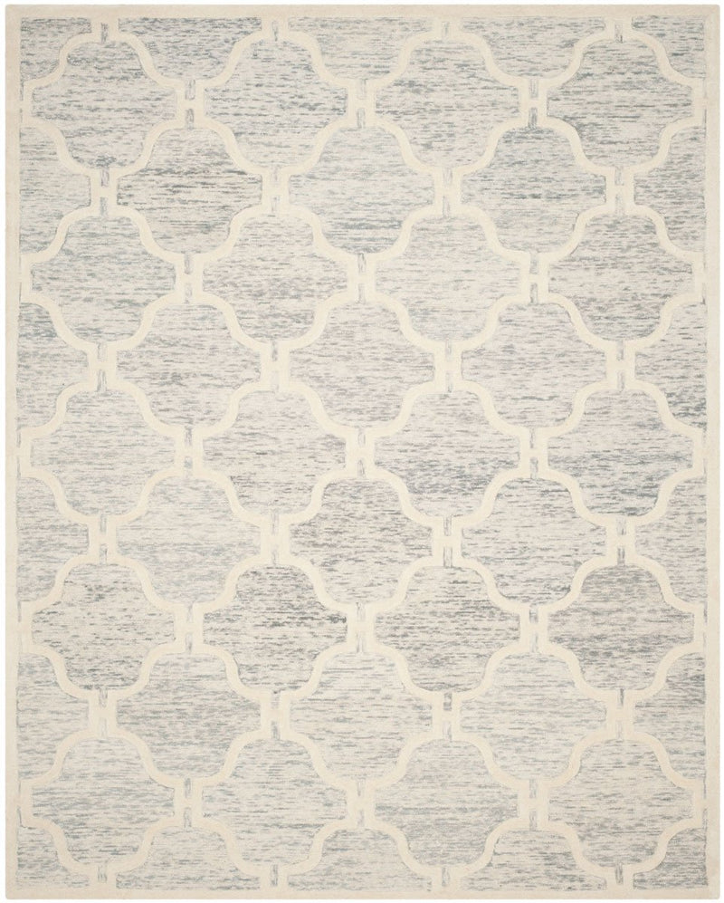 Safavieh Rugs Cambridge CAM727G Light Grey | Ivory