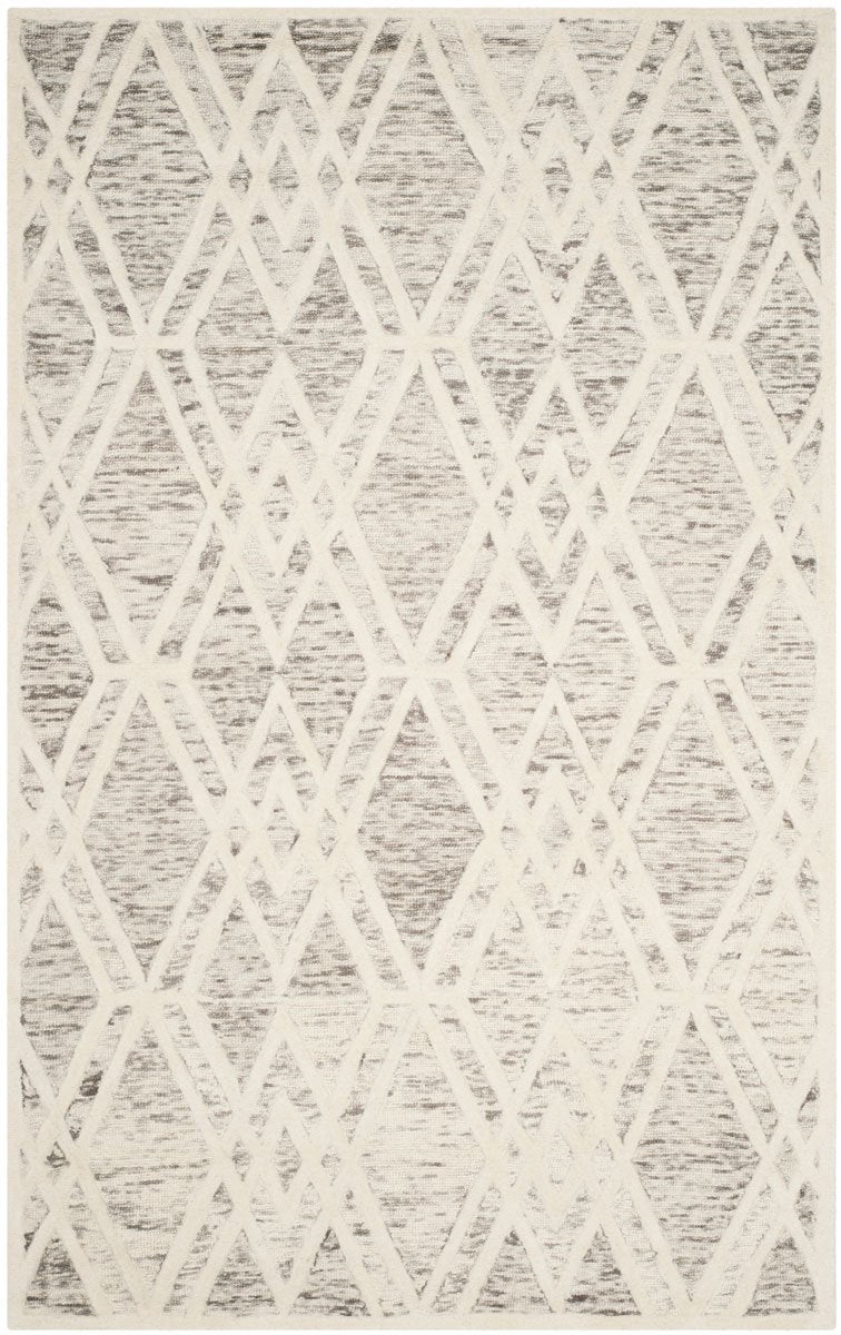 Safavieh Rugs Cambridge CAM729R Light Brown | Ivory