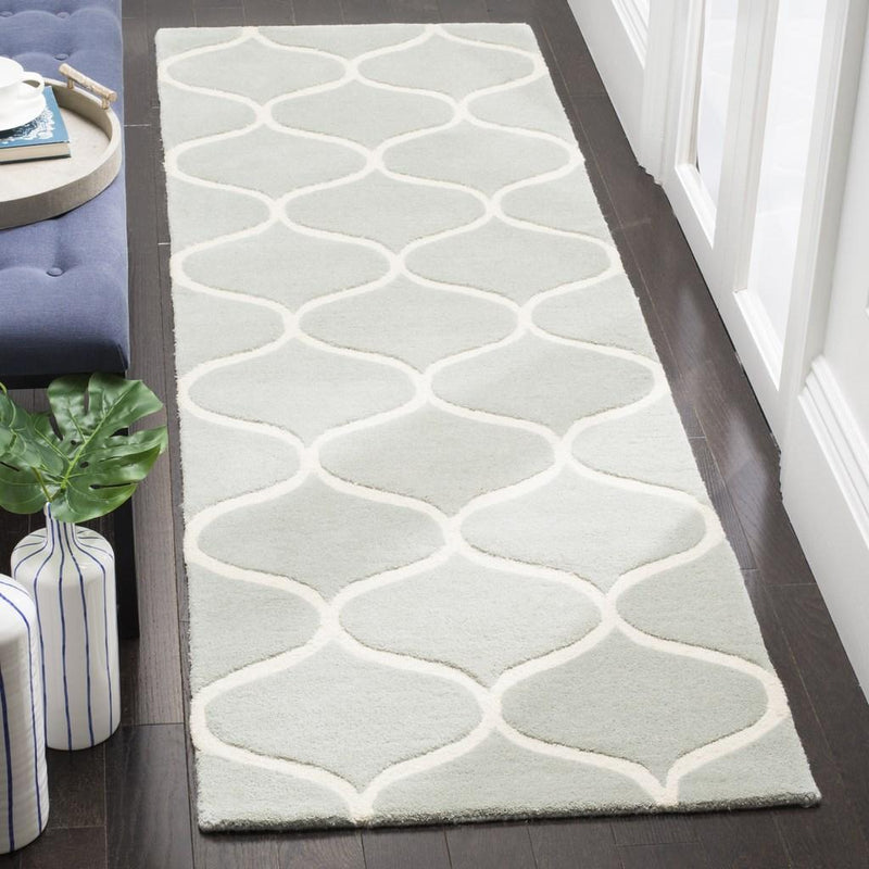 Safavieh Rugs Cambridge CAM730G Grey | Ivory