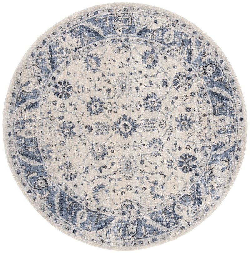 Safavieh Rugs Charleston CHL413A Ivory | Blue