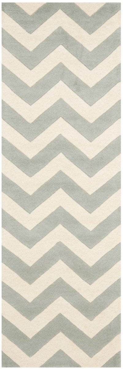 Safavieh Rugs Chatham CHT715E Grey | Ivory