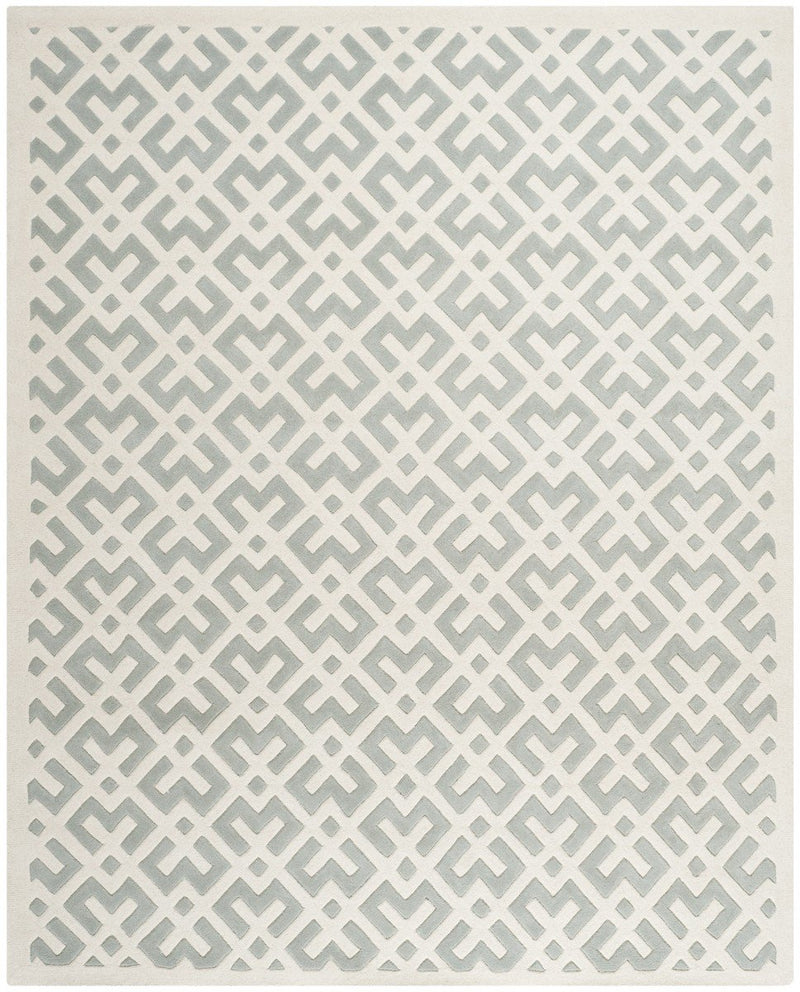 Safavieh Rugs Chatham CHT719E Grey | Ivory