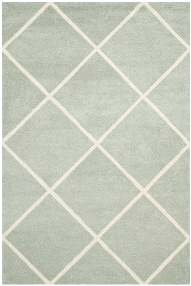 Safavieh Rugs Chatham CHT720E Grey | Ivory