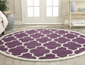 Safavieh Rugs Chatham CHT733F Purple | Ivory