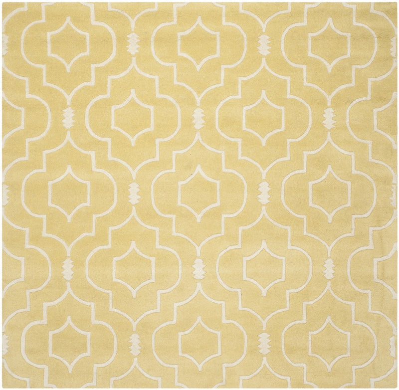 Safavieh Rugs Chatham CHT736L Light Gold | Ivory