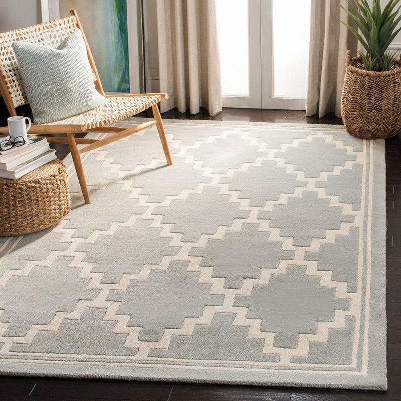 Safavieh Rugs Chatham CHT743E Grey | Ivory