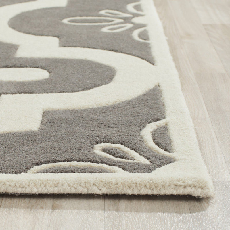 Safavieh Rugs Chatham CHT751D Dark Grey | Ivory