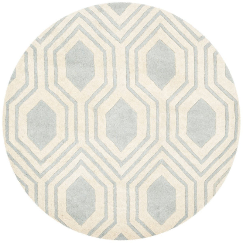 Safavieh Rugs Chatham CHT760E Grey | Ivory