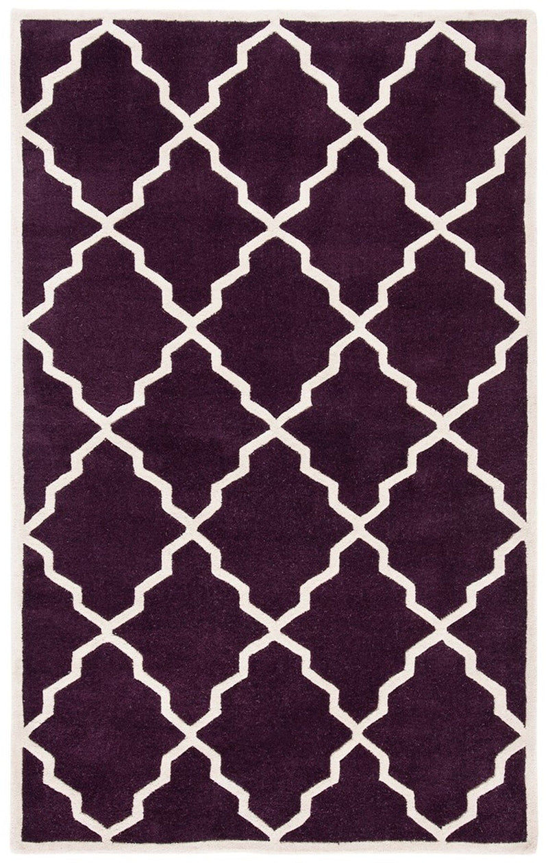Safavieh Rugs Chatham CHT940P Dark Purple