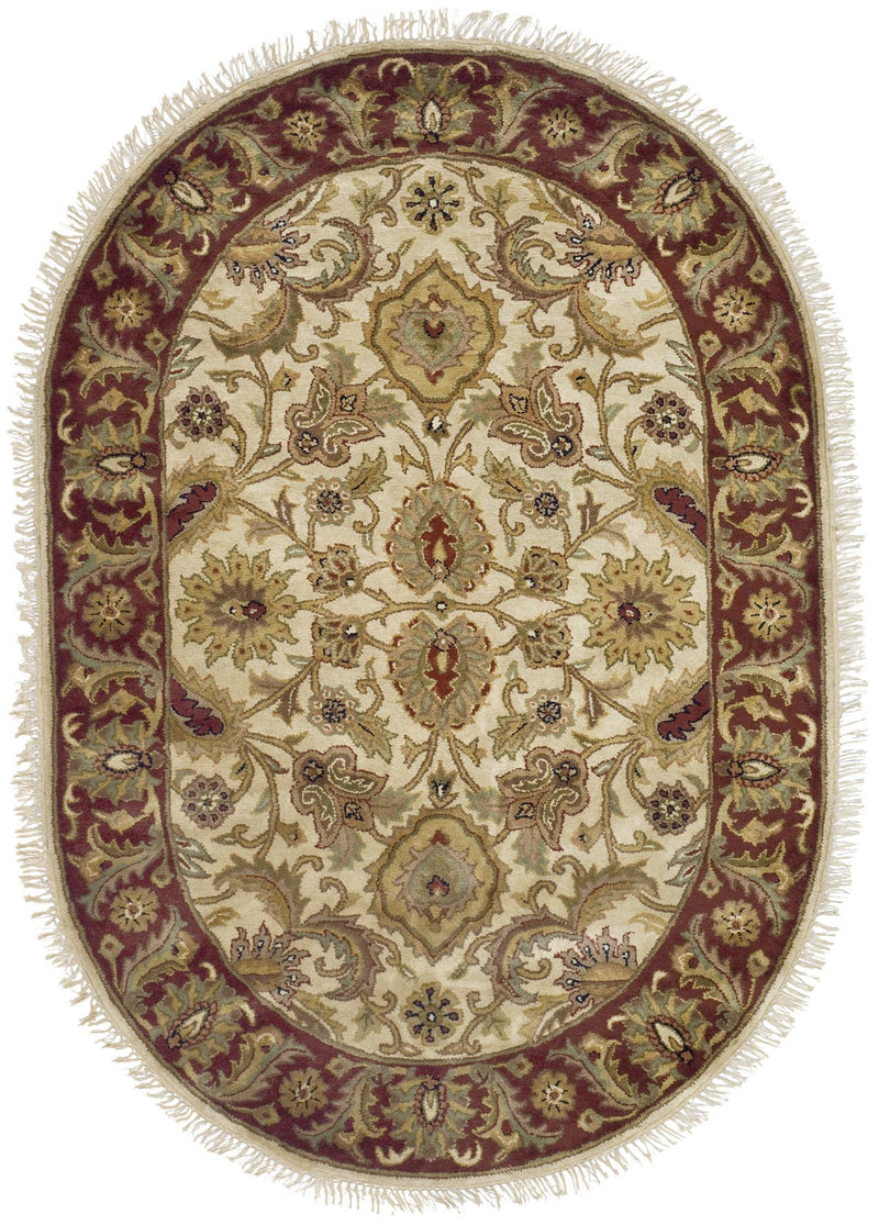 Safavieh Rugs Classic CL244D Ivory | Red