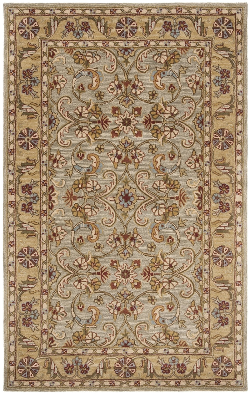 Safavieh Rugs Classic CL324A Light Green | Gold