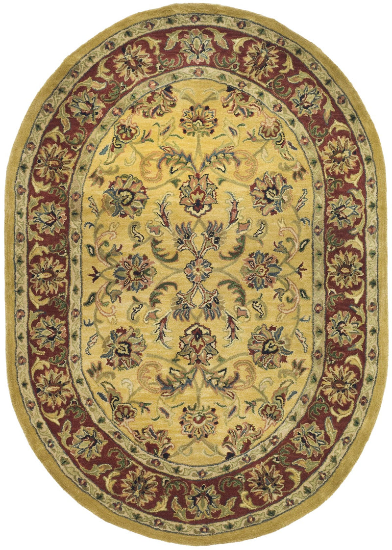 Safavieh Rugs Classic CL398A Gold | Red
