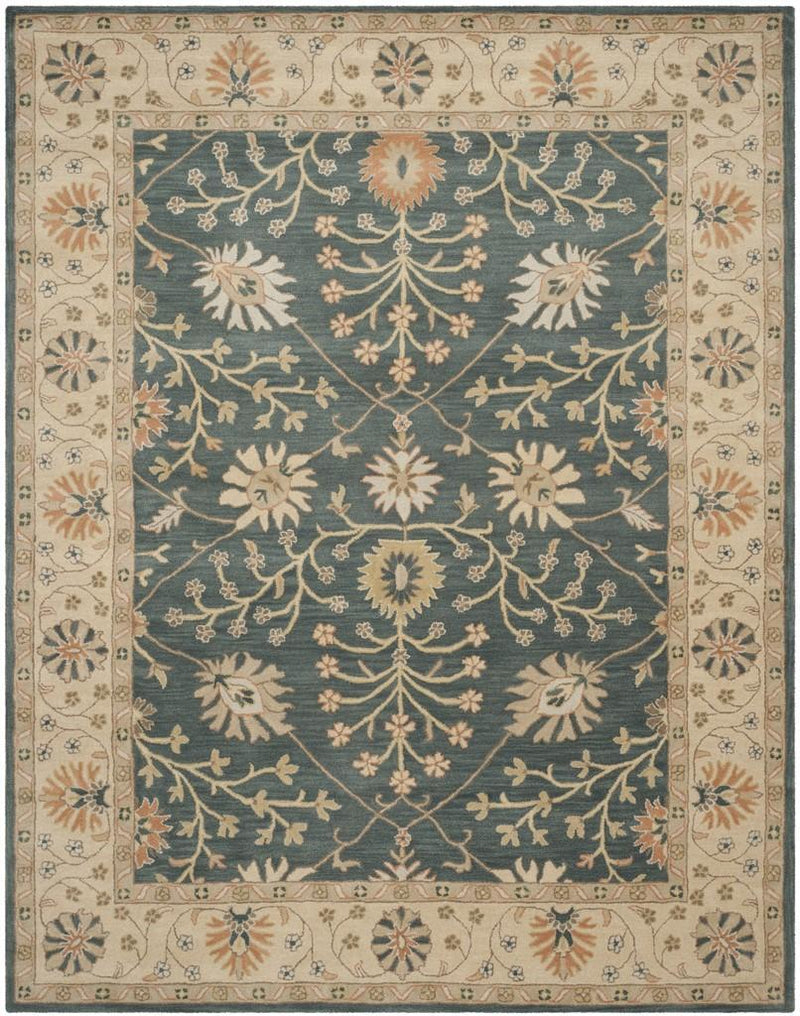 Safavieh Rugs Classic CL936A Blue | Light Gold