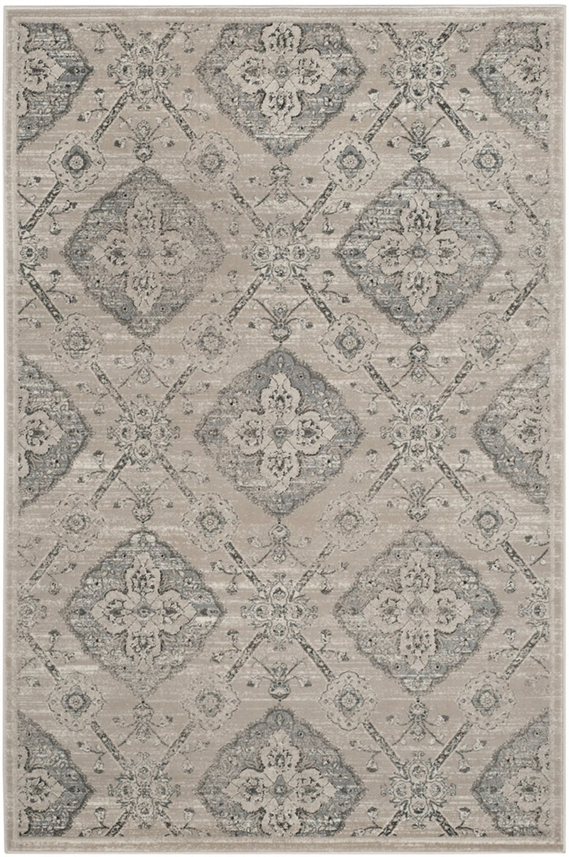 Safavieh Rugs Carnegie CNG623B Taupe | Light Blue