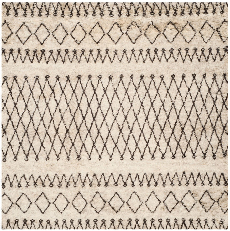 Safavieh Rugs Casablanca CSB851A Ivory | Dark Brown