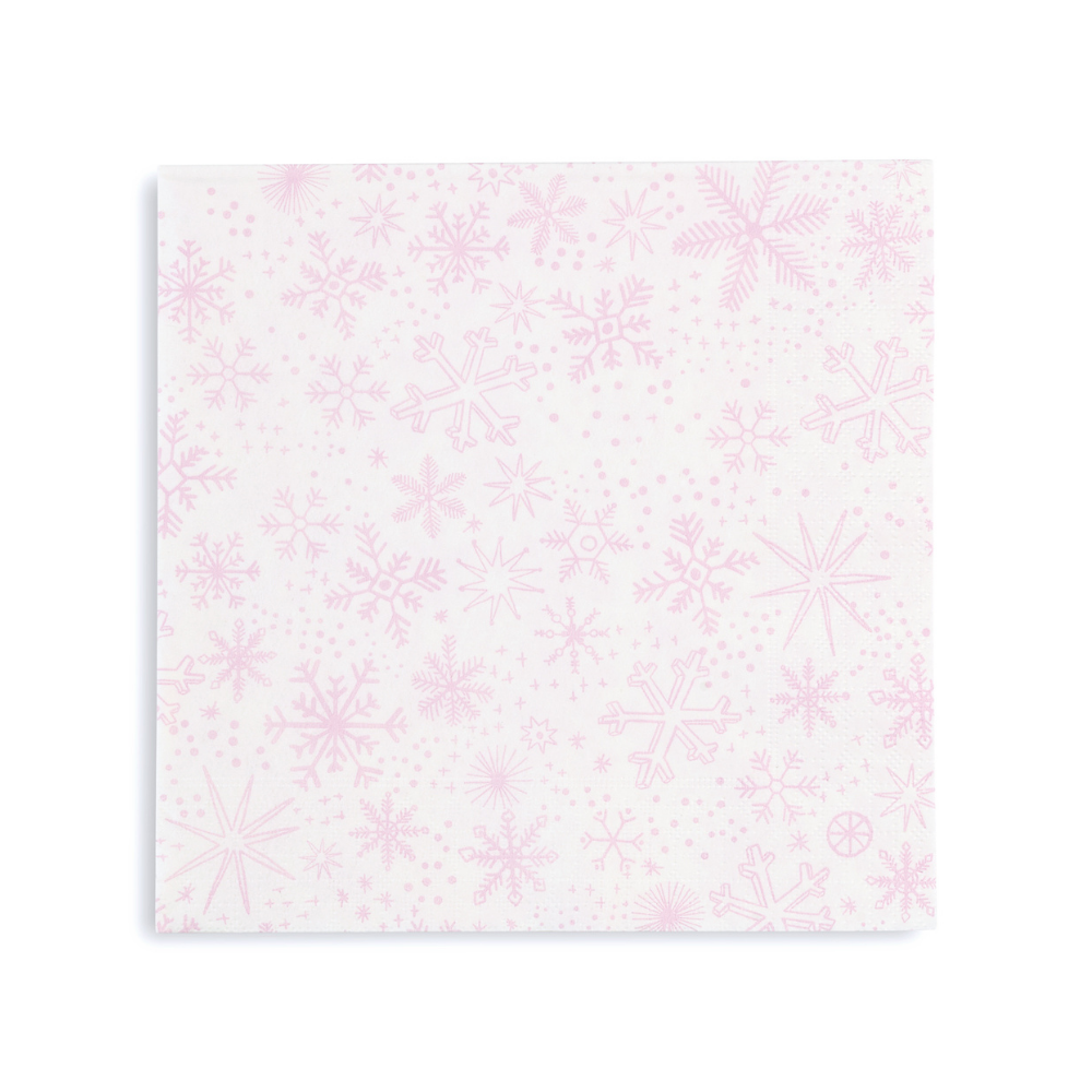 Frosted Lunch Napkins