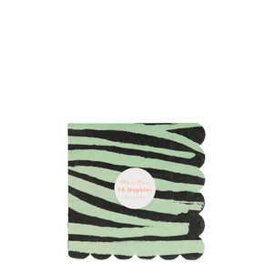 Safari Animal Print Small Napkins