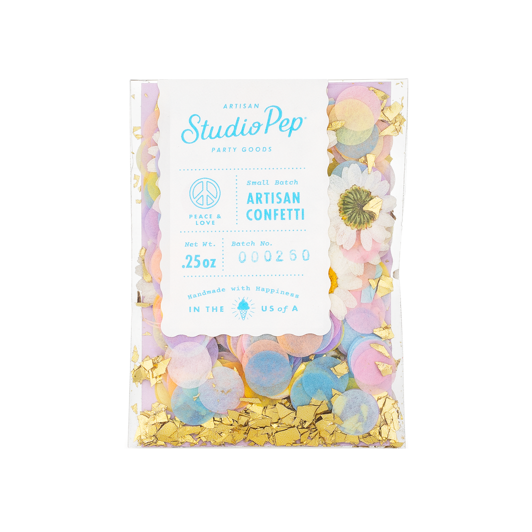 Peace & Love Confetti - Mini Pack