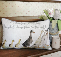 COUNTRY CUSHIONS - STYLE OPTIONS AVAILABLE