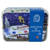 WATERCOLOUR SET IN A TIN