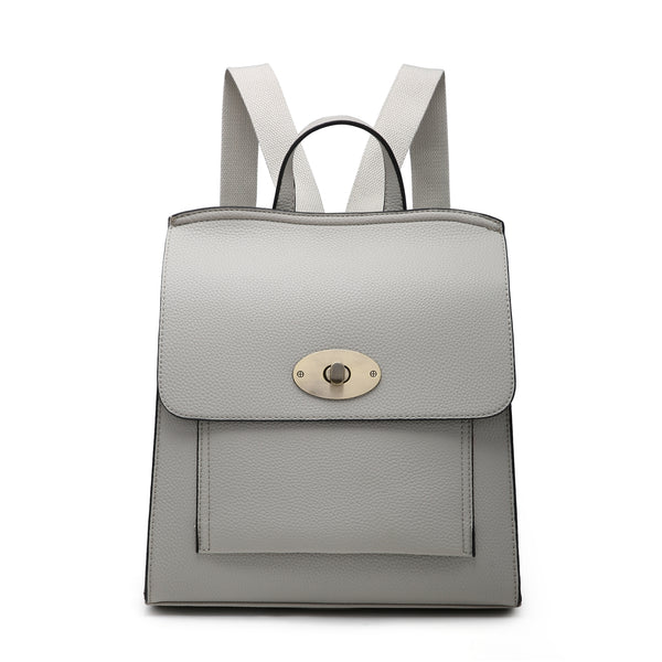 BACK PACK FAUX LEATHER BAG - COLOUR OPTIONS AVAILABLE