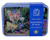 BUTTERFLIES AND BEES SUNCATCHER KIT