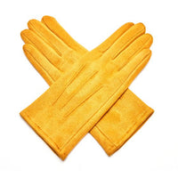 ELEGANT PLEAT DETAIL GLOVES -COLOUR OPTIONS AVAILABLE