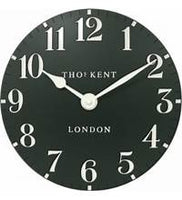 THOMAS KENT CLOCK FOREST GREEN