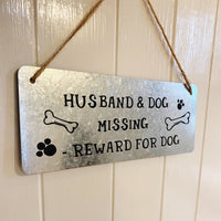 *SALE* METAL DOG SIGN RRP £8.95