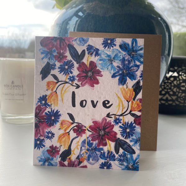 WILDFLOWER SEED VALENTINES CARDS