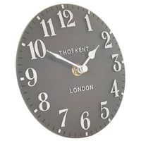 MANTEL CLOCK DOLPHIN GREY