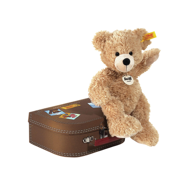 STEIFF FYNN BEAR IN SUITCASE