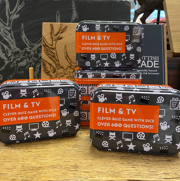 FILM & TV QUIZ IN A TIN