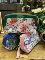 *SALE* FLORAL COSMETIC BAG - COLOUR OPTIONS AVAILABLE