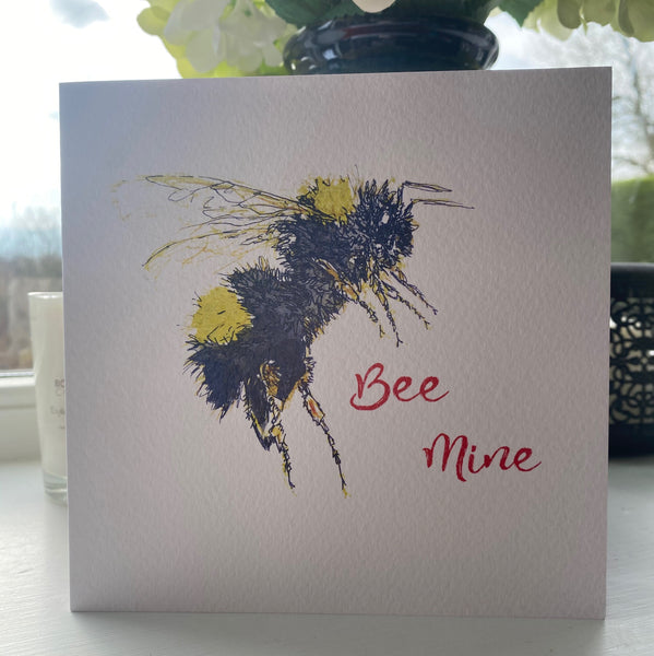 'BEE MINE' VALENTINES CARD