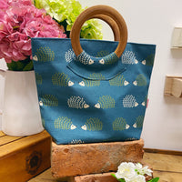 ROUND HANDLE LINED BAG - DESIGN OPTIONS AVAILABLE