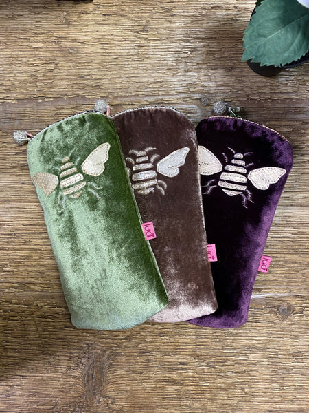 BEE GLASSES CASE - COLOUR OPTIONS AVAILABLE