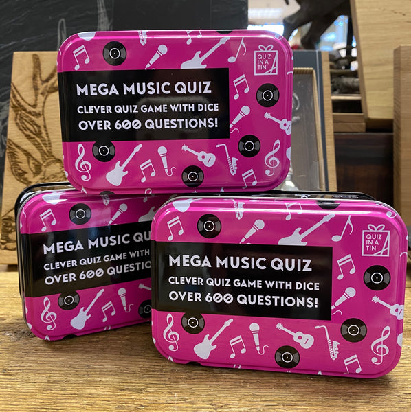 MEGA MUSIC QUIZ IN A TIN