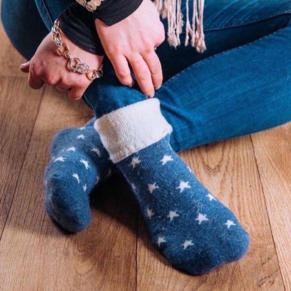 SOFT LOUNGING SOCKS - COLOUR OPTIONS AVAILABLE
