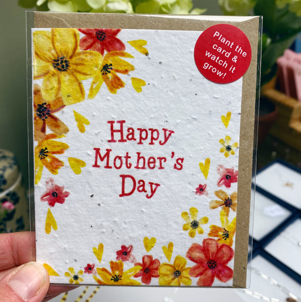 HAPPY MOTHERS DAY SEED CARD